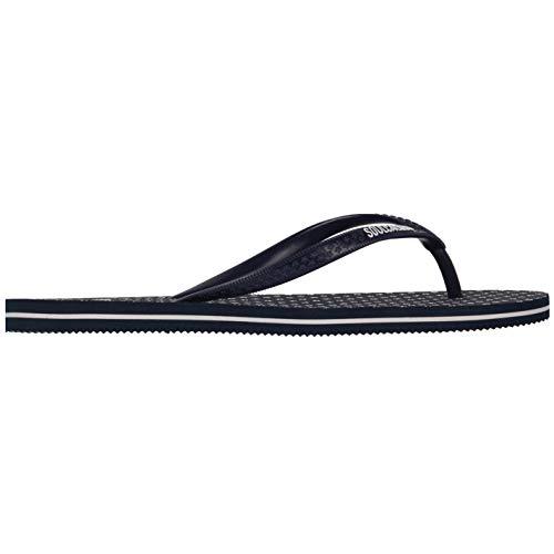 SoulCal Damen Maui Flip Flops Pantoletten Sommer Strand Marineblau 40 2/3 EU