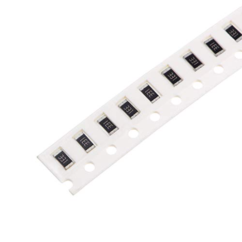 uxcell SMD Chip Resistor, 330 Ohm 1/4W 1206 Fixed Resistors, 5% Tolerance 300pcs