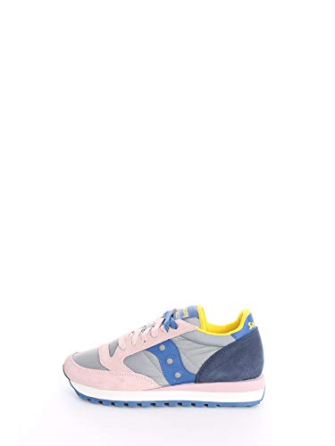 Saucony Scarpa da Ginnastica Donna Sportivo - Sneakers Donna Bassa (Rose Blue, Numeric_37_Point_5)