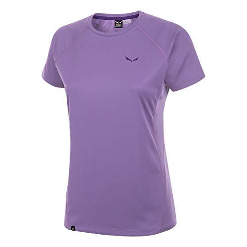 Salewa - PUEZ Dry W S/S Tee T-Shirt - XS - Violet - Femme