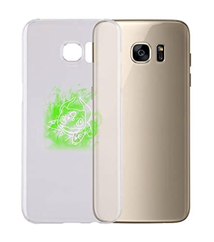 Cover Cover Compatibile con Tutti i Modelli di Samsung - BULBA - con Protezione della Fotocamera Custodia Trasparente Ultra Sottile (S8)