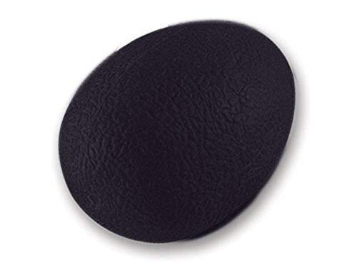 GIMA - eiförmiger Anti-Stress-Ball, Trainingsgerät für Finger, Hand und Handgelenk, für Die Rehabilitation, Widerstandsstufe Ultra-Schwer, Farbe Schwarz