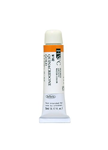 Holbein Artists Watercolor Quinacridone Gold 5ml