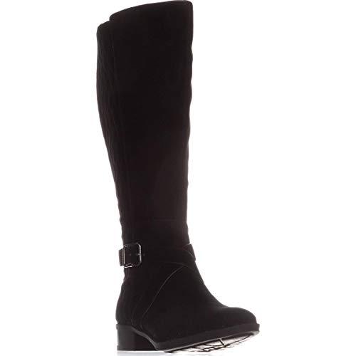 DKNY Frauen Mattie Knee higjh b Geschlossener Zeh Fashion Stiefel Schwarz Groesse 6.5 US /37.5 EU