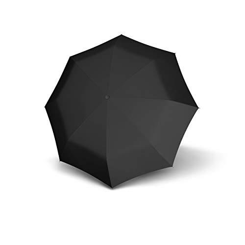 doppler Taschenschirm Carbon Magic XM Business – Übergroßes Schirmdach – Elegant – Schwarz