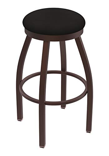 "Holland Bar Stool Co. 80236BZALEspr 802 Misha Bar Stool, 36"" Seat Height, Canter Espresso"