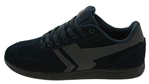 Boras Socca Sneaker Schuh Freizeitschuh Sport Vleoursleder Dryfeel-Futter navy41