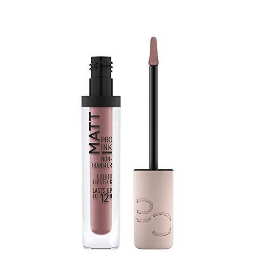 Catrice Matt Pro Ink Non-Transfer Liquid Lipstick, Lippenstift, Nr. 010 Trust In Me, nude, mattierend, langanhaltend, schnelltrocknend, matt, intensiv, farbintensiv, vegan, ohne Alkohol (5ml)