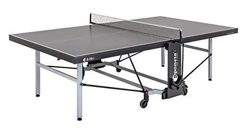 Sponeta Tisch S5-70 i einschl. Netz, St, grau