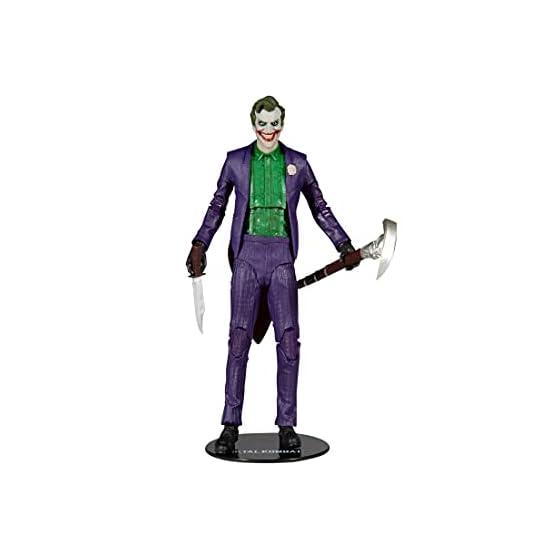 McFarlane Toys Mortal Kombat The Joker 7″ Action Figure with Accessories
