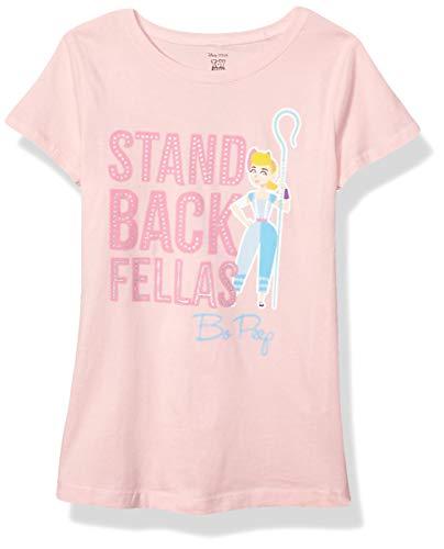 Toy Story Girls' Little 4 Lil Bo Peep Short Sleeve T-Shirt-Disney, Light Pink, 5/6