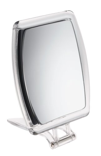 FMG Mirrors - Miroir de voyage rectangle grossissant x10 - 15 cm