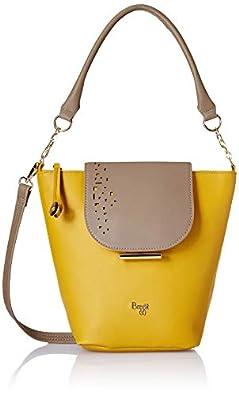 Baggit Women's Handbag (Yellow)