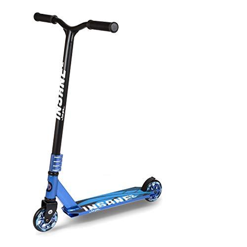 fun pro Insane2, SEMI PRO Stunt Roller bis 100 KG, (Stunt Scooter) mit HIC Kompression, super Grip Rollen, ABEC 9, Grinding Deck