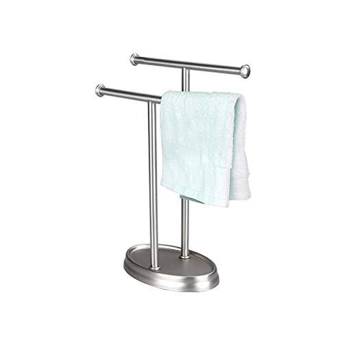 Preisvergleich Produktbild YWSZJ Silber Hand Handtuchhalter,  Freistehende Handtuchhalter,  Edelstahl-Halsketten-Halter Schmuck Organizer-Armband-Ausstellungsstand