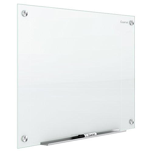 Quartet Glass Whiteboard, Non-Magnetic Dry Erase White Board, 6' x 4', White Surface, Infinity (G7248NMW)
