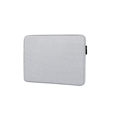 PJRYC Caja de portátil 13.3 14 15.4 Caja de Transporte de Viajes para Laptop de 15.6 Pulgadas para Hombres y Mujeres Funda a Prueba de Golpes (Color : Grey, tamaño : 13.3 Inch)