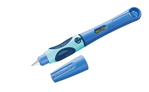 Pelikan 927970 Füllhalter griffix, Blau, für Rechtshänder, mit Drehkappe