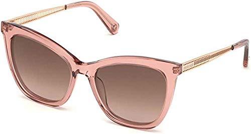 Roberto Cavalli Gafas de sol RC 1112 72F rosa transparente brillante, oro rosa/gradi