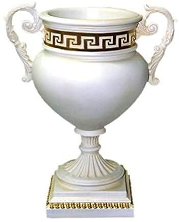 Jarra de cristal con diseño de medusa, diseño de morandro, pintado a mano, jarrón único y bonito para decoración de mesa