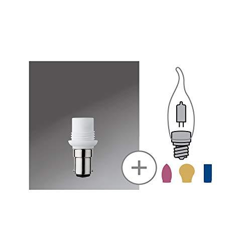 Paulmann 549.28 Minihalogen Sockel für G9 Stiftsockel B15d 230V Weiß 54928 Leuchtmittel Lampe