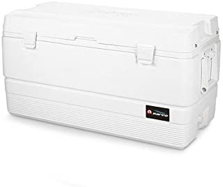 Marine 94-quart Cooler with Fish Measuring Ruler Built Into Lid