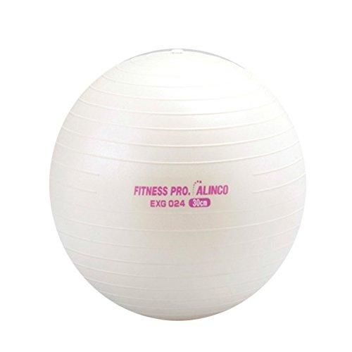 ALINCO(アルインコ) バランスボール 30cm エアーポンプ付 EXG024 ホワイト