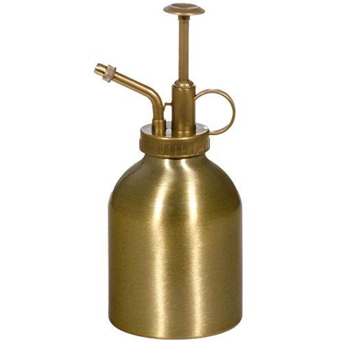 SIDCO Pflanzensprüher Zerstäuber Blumensprüher Wasserprüher Sprühflasche Besprüher Gold