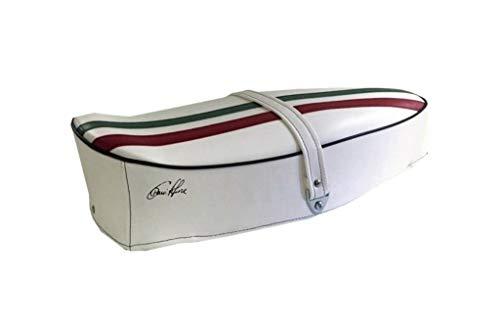 Zadelpen voor Piaggio Vespa 125 GTR wit driewieler