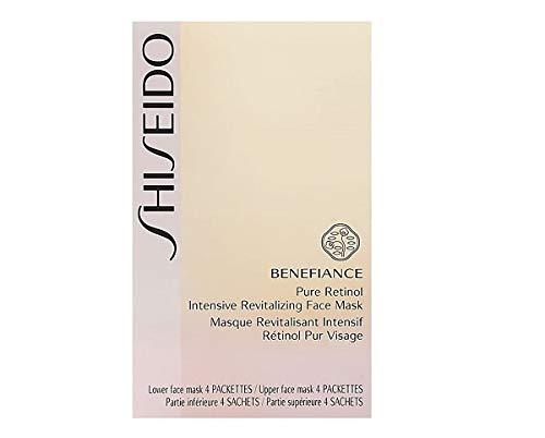 Shiseido Benefiance Pure Retinol Intensive Revitalizing Face Mask unisex, Maske 4 x 5 ml, 1er Pack (1 x 20 ml)