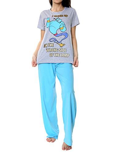 Disney Pijamas para Mujer Aladidn Azul X-Large