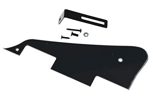 KAISH Golpeador de guitarra LP de 3 capas negro con soporte negro para Epiphone Les Paul