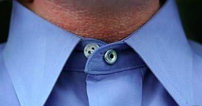Extensión para el cuello de la camisa - metal, goma elástica ...