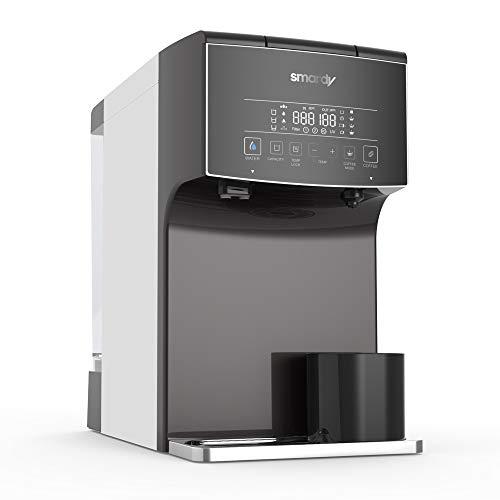 smardy blue zagora Premium Wasserbar - Auftisch Umkehrosmoseanlage Wasserfilter mobil - Tee - Kaffee - UV Sterilisation