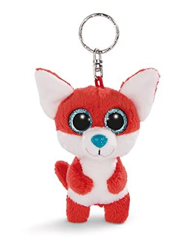 NICI Porte-clés GLUBSCHIS renard Jayson 9cm, avec des grands yeux scintillants