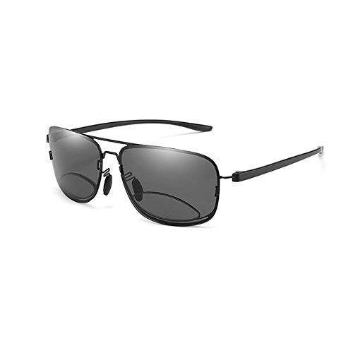 Ironwood Banana Gafas de Sol con Lentes bifocales de protección UV400 Gafas de Lectura para Exteriores para Hombres y Mujeres, adecuadas para la Lectura al Aire Libre y Otras Actividades (+ 3.5)