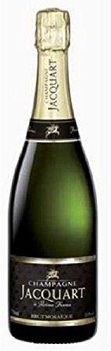 Brut Mosaique AOC Champagne Jacquart, trockener Champagner aus Chardonnay/Pinot Noir/Pinot Mineur