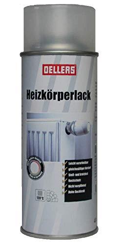 Heizkörperlack Spray | 400 ml | bewährte Sprayfarbe | hohe Deckkraft und Ergiebigkeit | Temperaturbeständig | kratz- und abriebfest, schmutz- und staubabweisende Farbe (RAL 7016 Anthrazit)