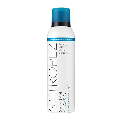 St.Tropez Fake Tan, Self Tan Classic Bronzing Mist, Vegan Spray Tan, 100 Percent Natural Tanning Active, PETA Certified, 200 ml