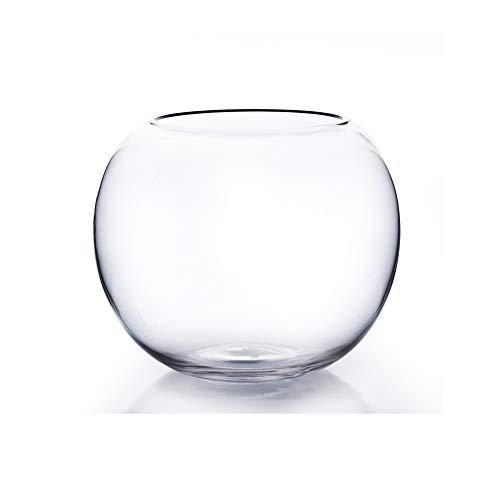 WGV Bowl Glass Vase, Diameter 10