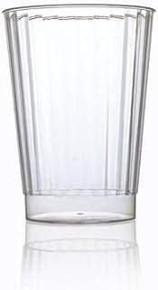 Vasos desechables para postre Caterserve pl/ástico 5oz-50 cups pl/ástico duro, 145 ml