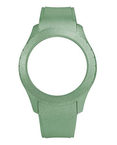 Correa de silicona de Watx. Modelo Smart Recife / Metal Green / 49mm. Referencia COWA3706.