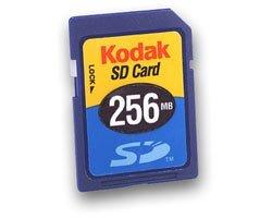 Preisvergleich Produktbild Kodak 256 MB Premium Secure Digital SD memord Karte