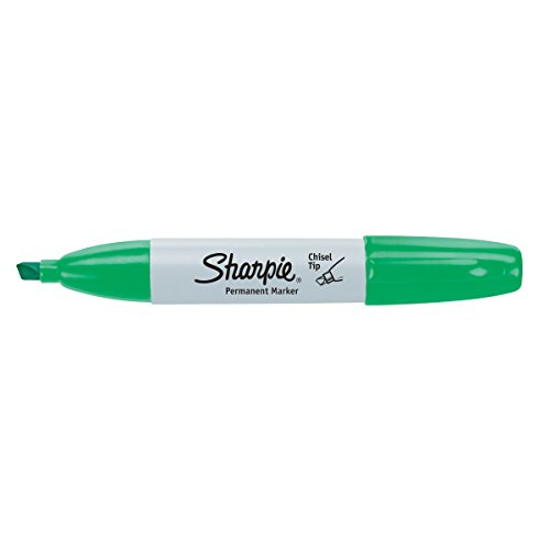 Sharpie Chisel Tip Permanent MParker Open Stock, Green (38284)