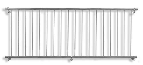 Günstige Restposten! VORTEC, Set 21/525 Franz. Balkon mit senkr. Stäben 2500x950mm