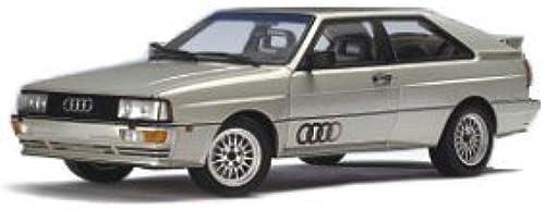 Audi quattro 88 LWB silber metallic AutoArt 1 18