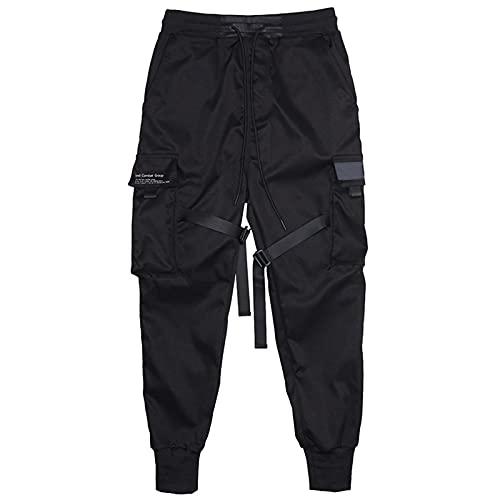Pantalones de chándal para hombre, estilo informal, para hombre
