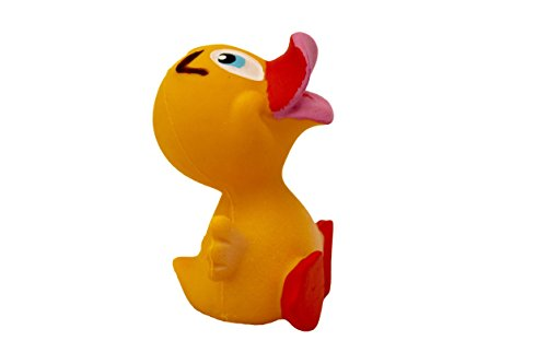 Lanco: Denzel The Duck Natural Rubber Bath/Teether Toy