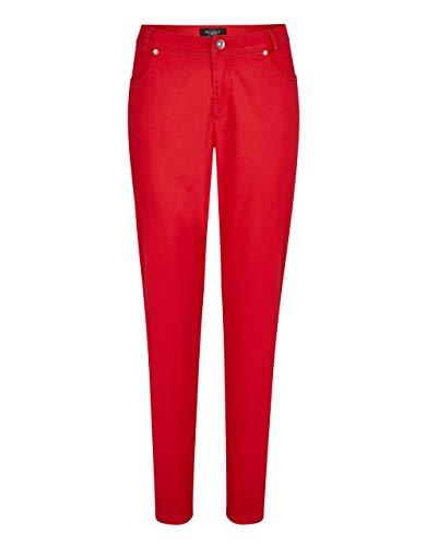 Bexleys Woman by Adler Mode Damen Hose in Baumwollqualität - Kurzgröße rot 23