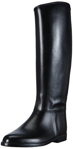 Hkm Standard mit Reißverschluß Botas de Equitación, Hombre, Negro (Black), 46 EU